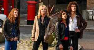 cast of Bohemian Rhapsody.