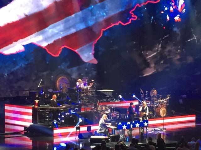Elton John in concert at Caesar's Palace May 2018