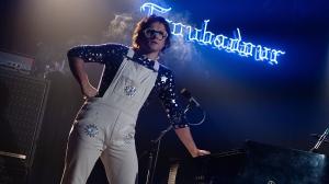 Taron Egerton as Elton John at the Troubadour